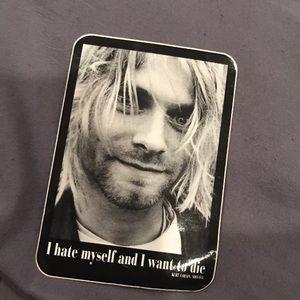 Vintage Kurt cobain sticker